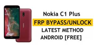 Reset FRP Nokia C1 Plus Bypass Google lock Android 10 Without PC/APK