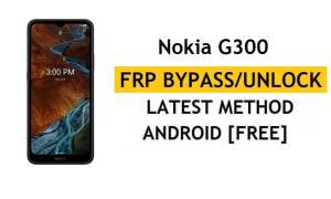Nokia G300 FRP Bypass [Android 11] Unlock Google Account lock Method