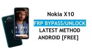 Nokia X10 Android 11 FRP Bypass Unlock Google Gmail Lock Latest no pc