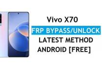 Vivo X70 Android 11 FRP Bypass – Unlock Google Gmail Verification – Without PC [Latest Free]