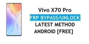 Vivo X70 Pro Android 11 FRP Bypass – Unlock Google Gmail Verification – Without PC [Latest Free]
