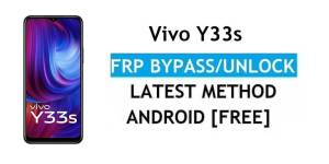 Vivo Y33s Android 11 FRP Bypass – Unlock Google Gmail Verification – Without PC [Latest Free]