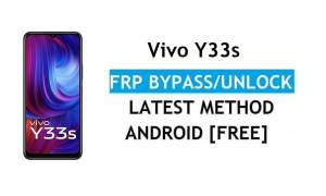 Vivo Y33s Android 11 FRP Bypass Unlock Google Gmail Lock Without PC
