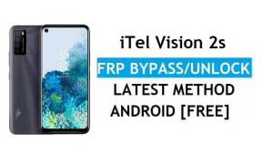 iTel Vision 2s Android 11 FRP Bypass – Unlock Google Gmail Without PC