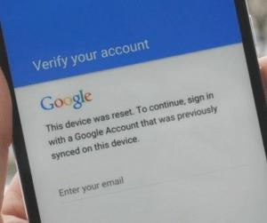 Google verification bypass on your Motorola