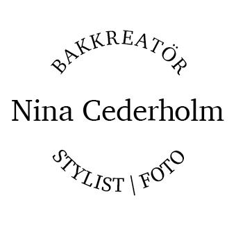 Nina Cederholm Bakkreatör | Stylist | Foto