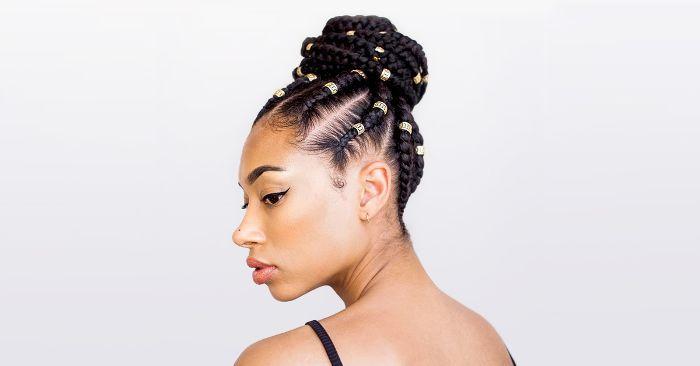 3 Natural Hair Braid Styles