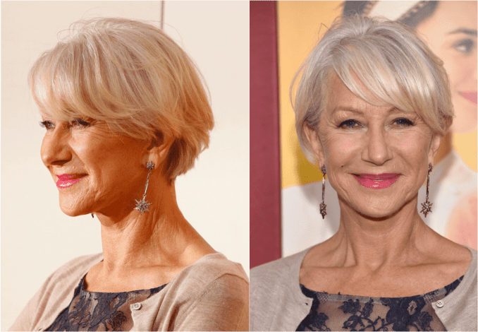 over 60? get haircut inspiration from these celebrities