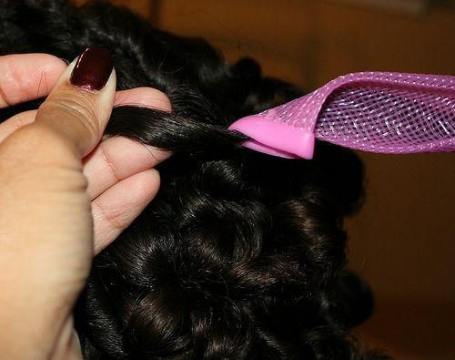 How To Use Curlformers On Black Hair