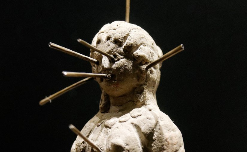 """""""Voodoo Doll Louvre"""" by Jastrow licensed under CC BY 2.5 cropped by Nick Byrd"""
