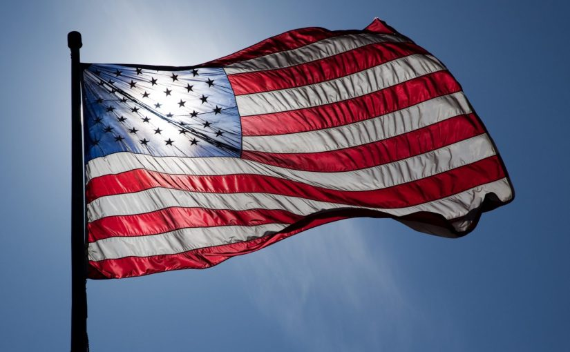 """US Flag Backlit"" by Jnn13 is licensed under CC by 3.0"