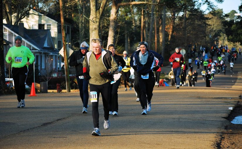 """Blues Race thru Belhaven"" by Monumenteer2014 licensed under CC BY 2.0"
