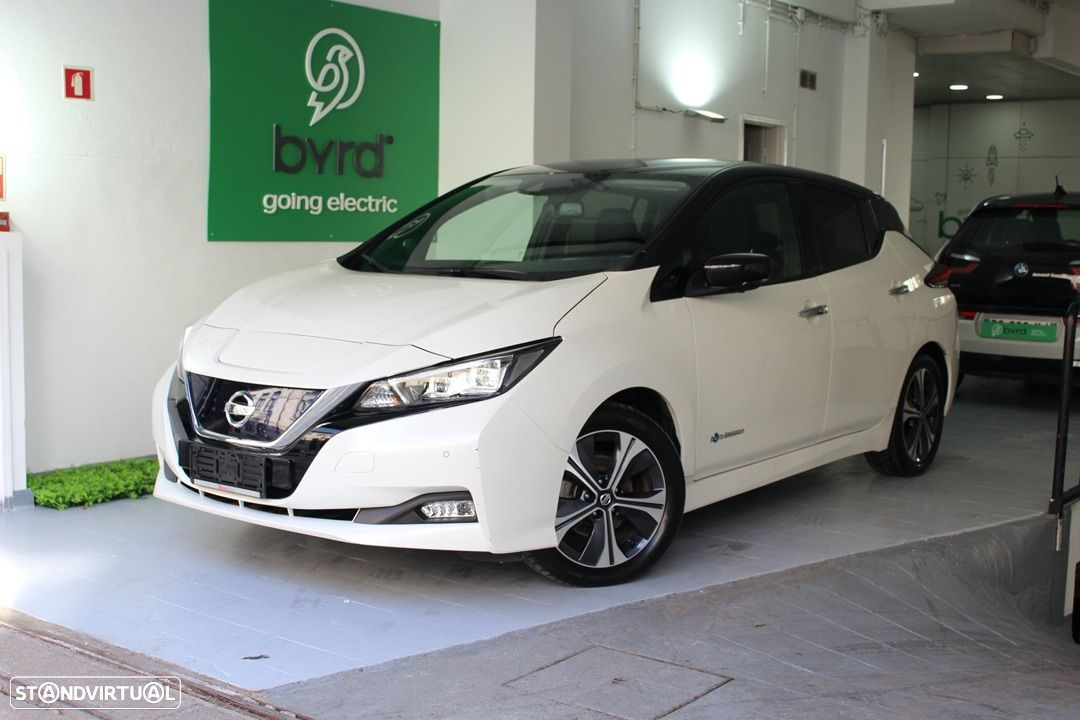 Nissan Leaf Connecta 40kw Branco