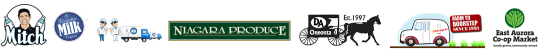 Byrne Dairy Glass Milk Bottles Logos
