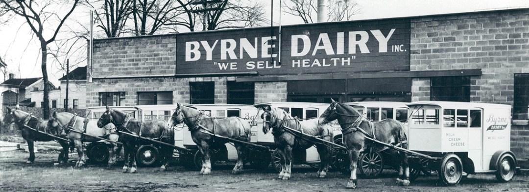 History of Byrne Dairy Glass Milk Bottles Slide-2