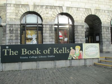The Book of Kells is displayed at the Old Library at Trinity College