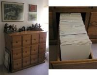 Byrne Robotics: Custom Comic Book Cabinets