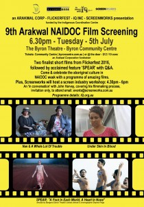 Arakwal NAIDOC Week Film Screening poster 2400w