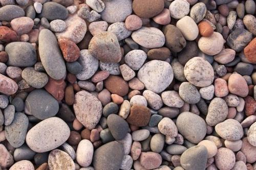 Rock;Abstracts;Michigan;Textures;Pebble;Stone;Orange;Pastel;Rocks;Lake-Superior;