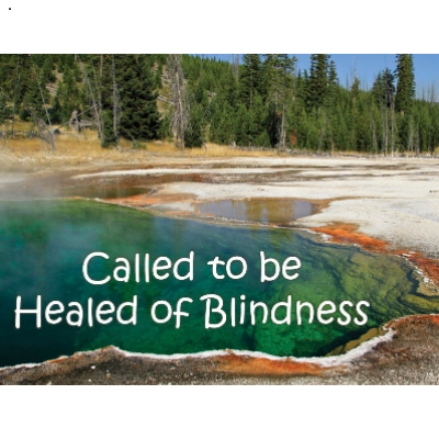 called to be healed of blindness