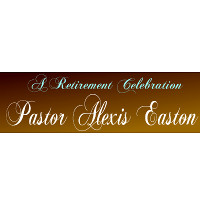 Rev. Alexis Easton retirement party