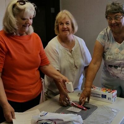 assembling umcor health kits
