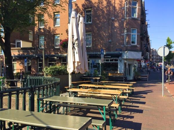 Terras Amsterdam West FIER