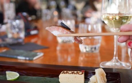Bizar lekkere sushi bij restaurant MOMO