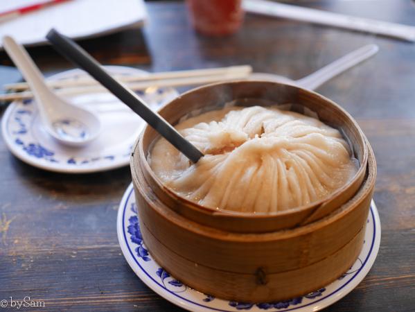 Giant dumpling New York City
