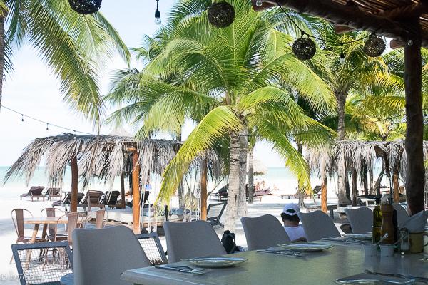 Restaurant Mandarina Isla Holbox Mexico
