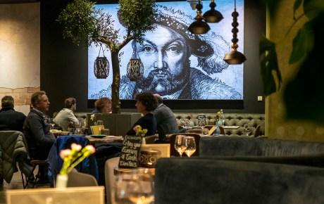 Dimitri's Amsterdam is ideaal voor een gezellige avond