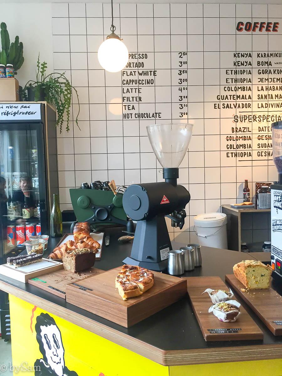 FUKU Coffee Bar Amsterdam Bolo