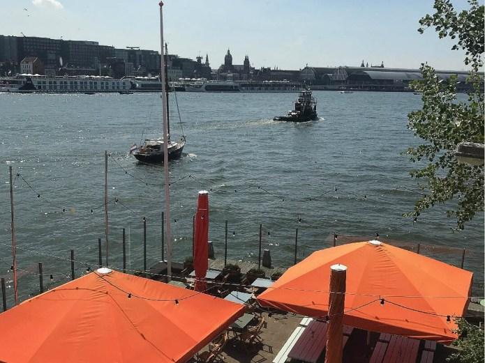 Dok du Nord bar restaurant Amsterdam Noord terras