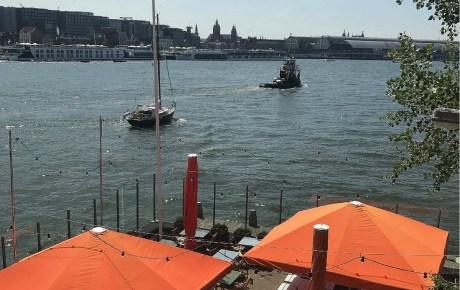 Dok du Nord nieuwe spot aan 't IJ in Amsterdam Noord
