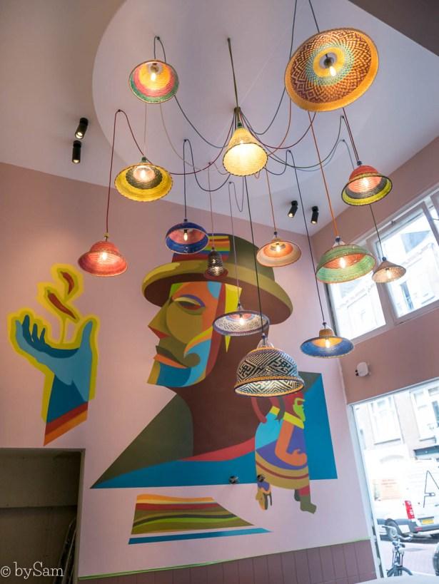 NAZKA Amsterdam Peruaans restaurant Van Woustraat