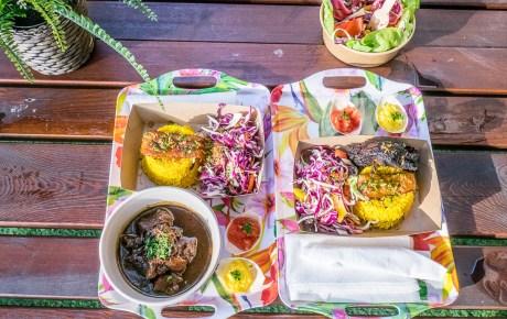 Ed's Caribbean Street Food, tropische verrassing met giga terras