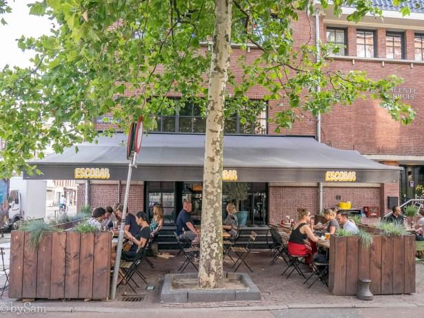 Escobar terras Amsterdam Zuid de Pijp bar restaurant