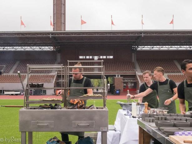 Restaurant Wils koken op open vuur Amsterdam