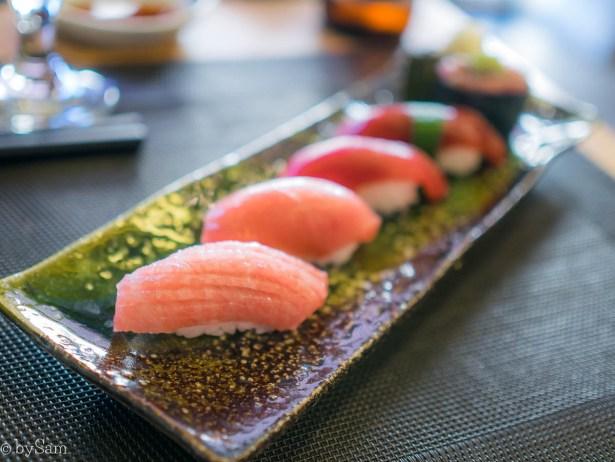 Tonijn sushi Hokkai Kitchen IJmuiden