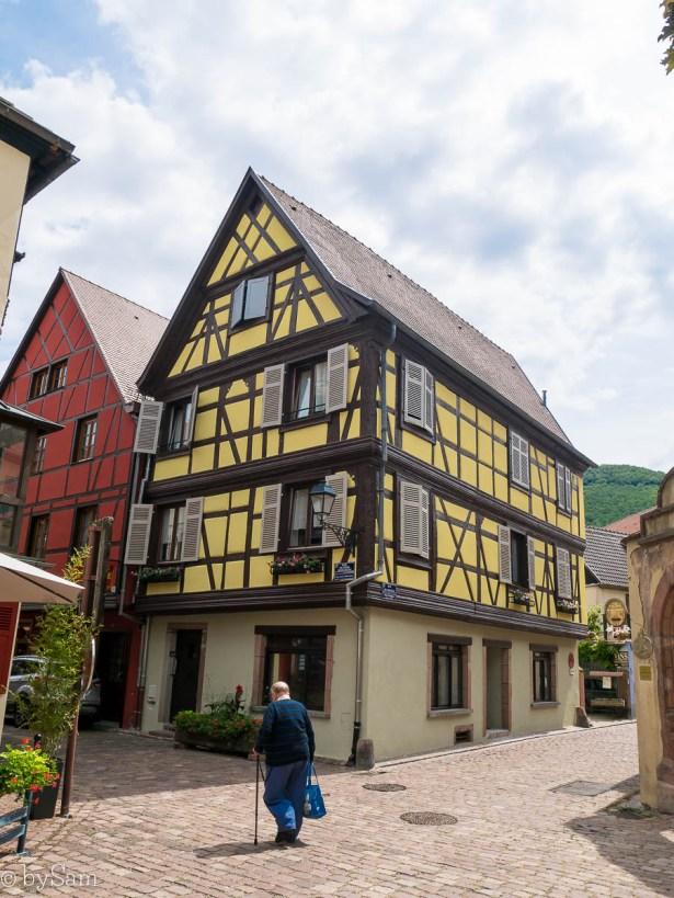 Kaysersberg Alsace Kerstmis weekend weg
