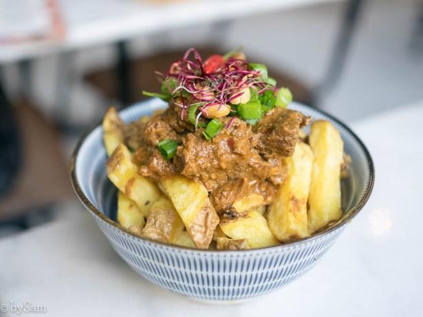 Patatje rendang Benji's Toko Amsterdam West Baarsjes streetfood