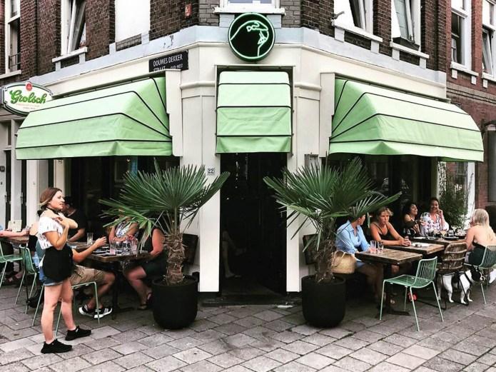 Parakeet nacho's cocktailsbar Amsterdam Oud-West