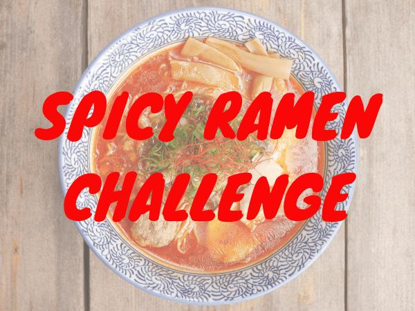 Spicy Ramen Challenge Amsterdam wedstrijd contest
