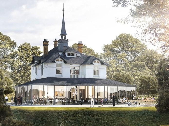 WesterVilla restaurant Amsterdam West terras serre boutiquehotel