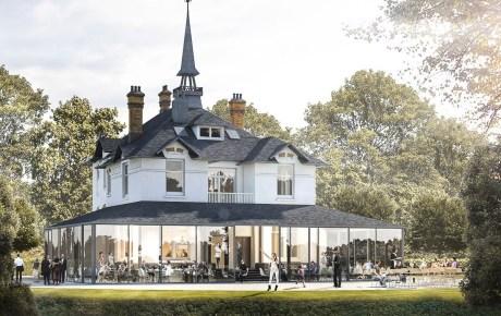 Vrijstaande villa in Westerpark krijgt restaurant met serre en terras