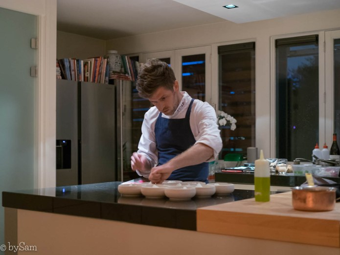 Chef Michael Wolf on Location
