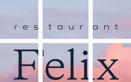 Pssst Restaurant Felix Amsterdam opent binnenkort