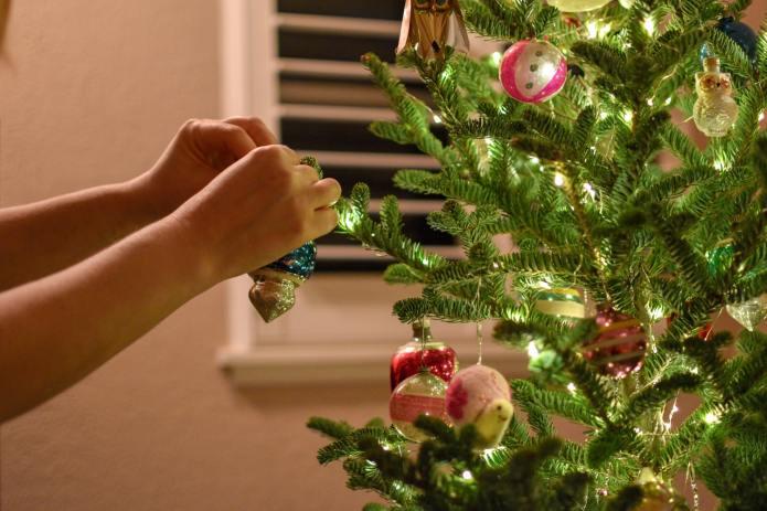 Kerstboomhangers eten