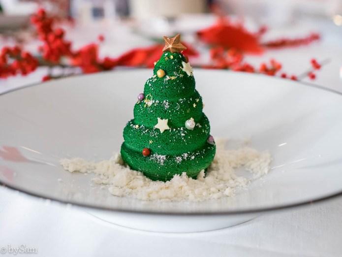 Kerstboom chocolade Waldorf Astoria Amsterdam