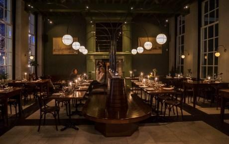 Café Nieuw Amsterdam in monumentaal pand West-Indisch huis is een fijne all day spot